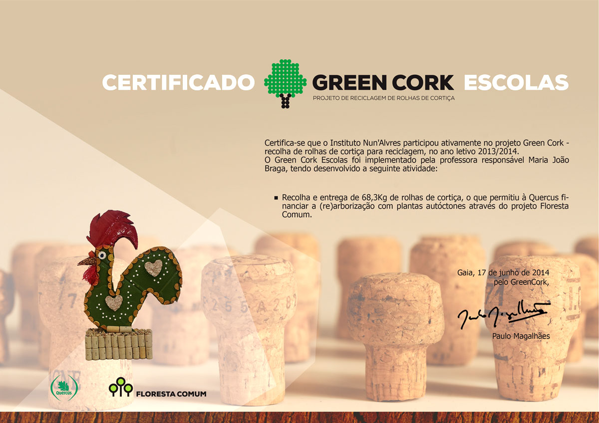 ina certificado green-cork